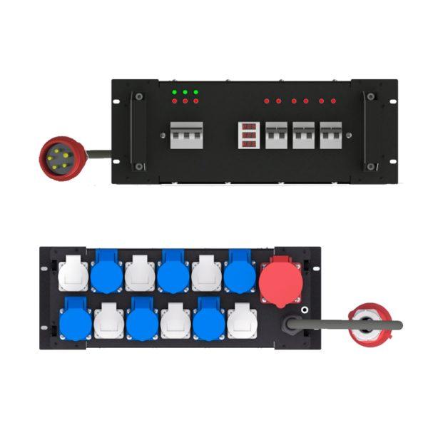Рэковый дистрибьютор питания ERC466V - EDS