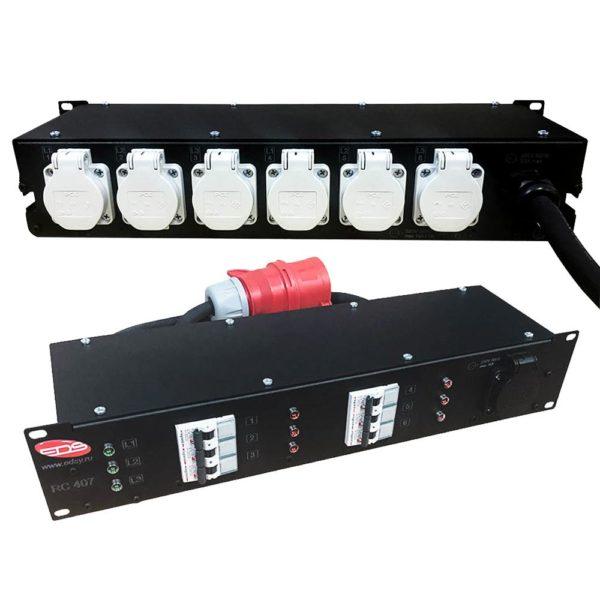 RC 407 Рэковый дистрибьютор питания