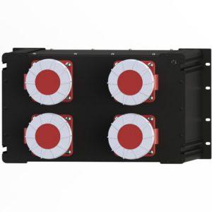Рэковый дистрибьютор питания R 040 PL производства EDS