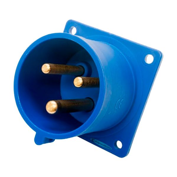 Вилка панельная CEE 32A 70x70 3Pin 230V в компании EDS