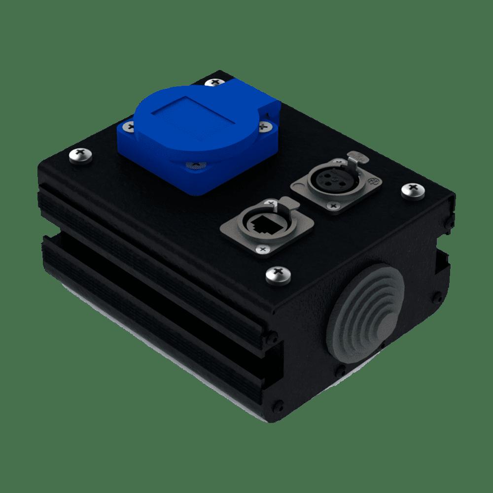 Коробка коммутационная проходная CB 01-F-E | EDS