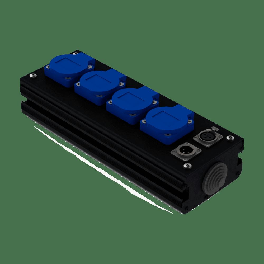 Коробка коммутационная проходная CB 04-F-M | EDS