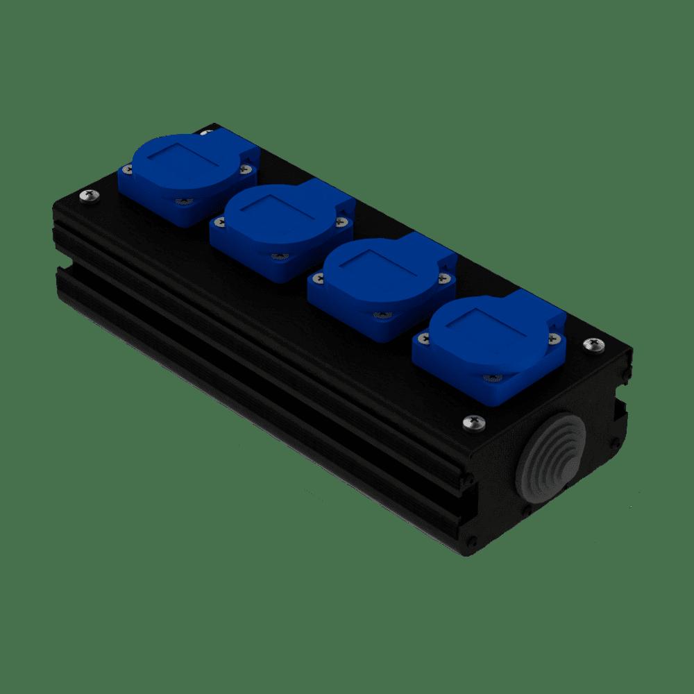 Коробка коммутационная проходная CB 04 | EDS