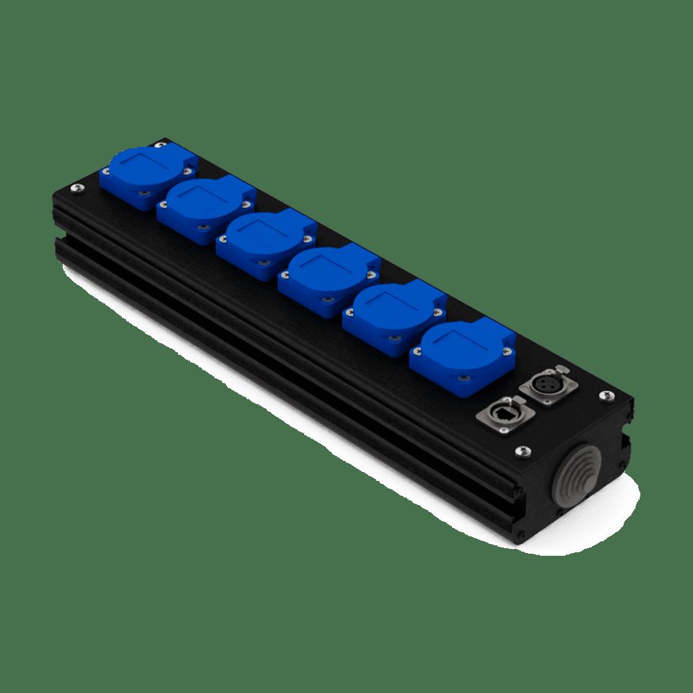 Коробка коммутационная проходная CB 06-F-E | EDS
