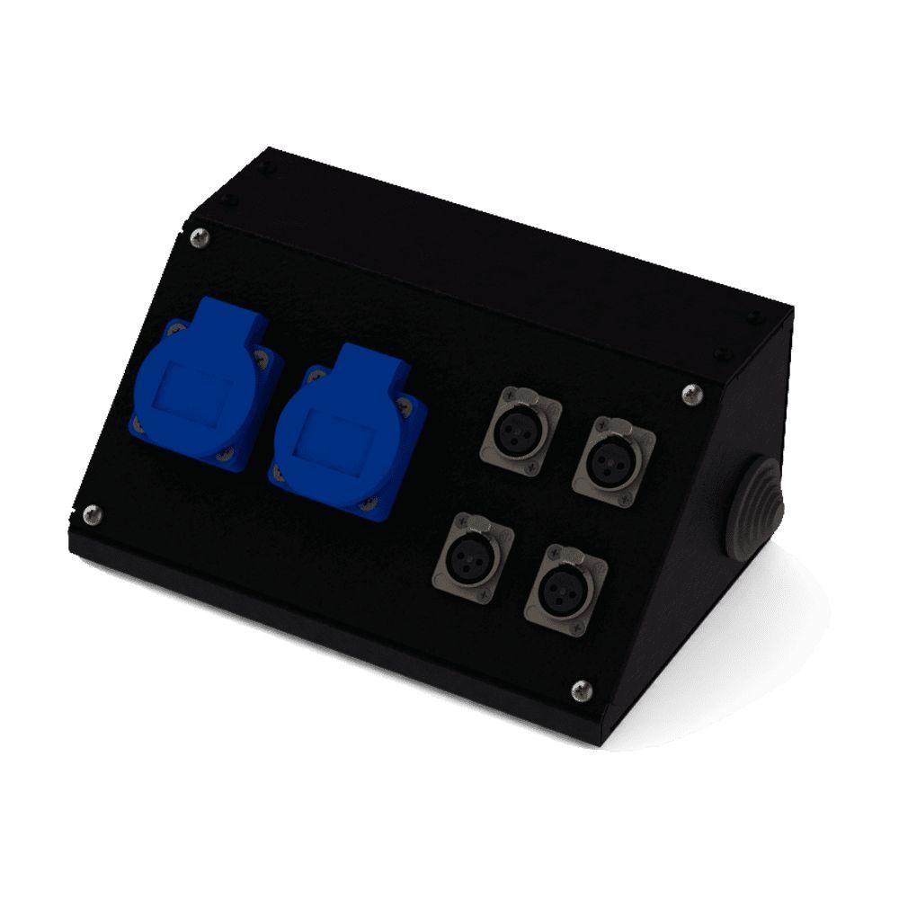 Коробка коммутационная проходная CBD 02-4F   EDS