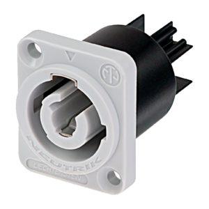 Панельный разъем Neutrik PowerCON 20 А серый