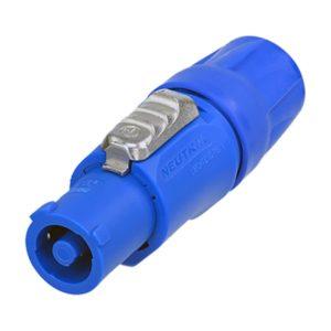Кабельный разъем Neutrik PowerCON 20 А синий