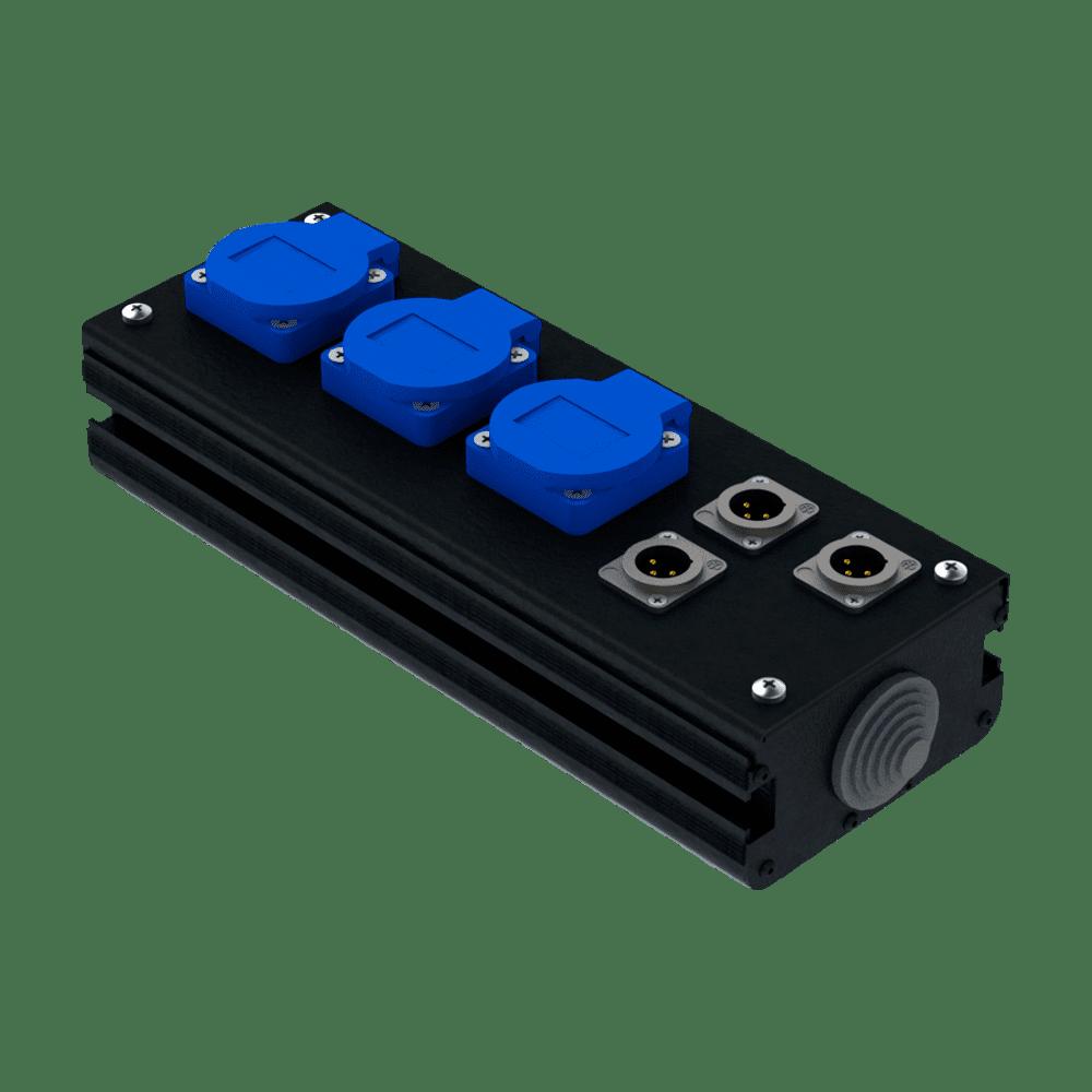 Коробка коммутационная проходная CB 03-3M | EDS