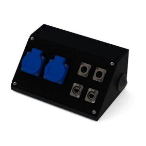 Коробка коммутационная проходная CBD 02-2M-2E | EDS
