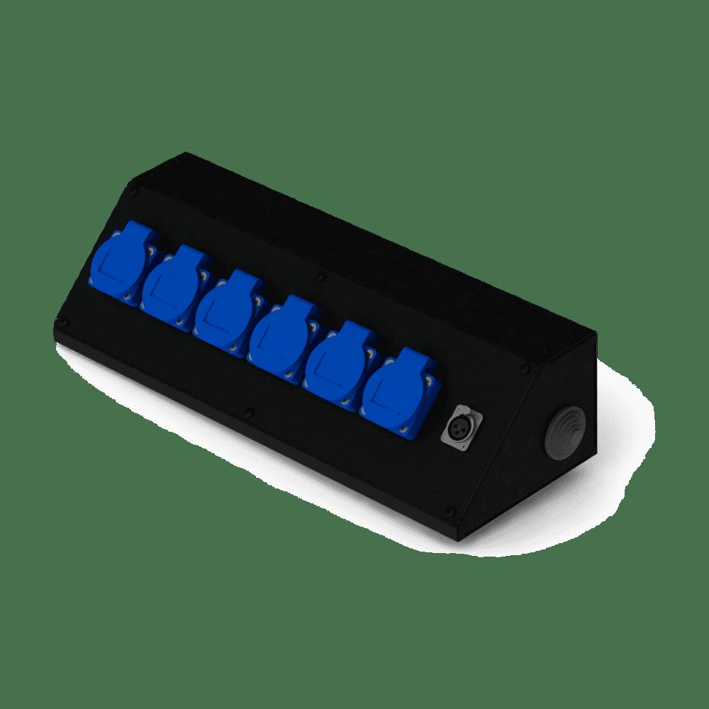 Коробка коммутационная проходная CBD 06-F | EDS