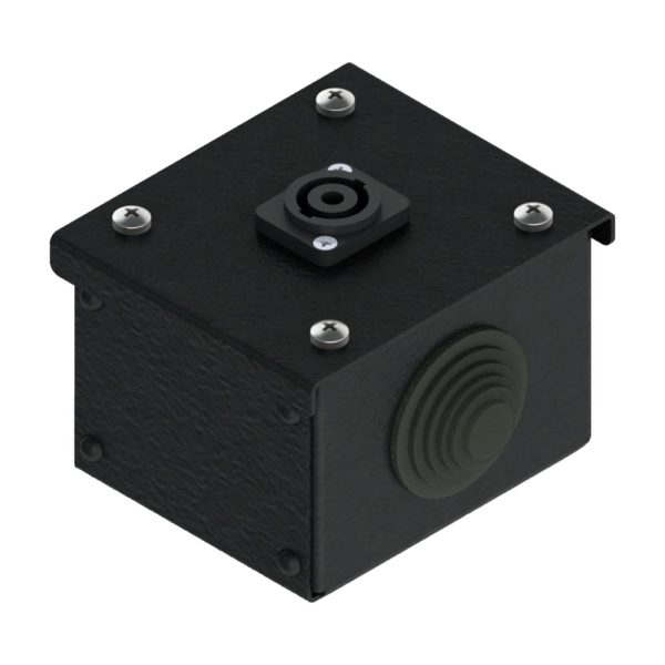 Коробка коммутационная проходная без профиля CBW 00-1S от компании EDS