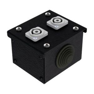 Коробка коммутационная проходная без профиля CBW 00-2PС от компании EDS