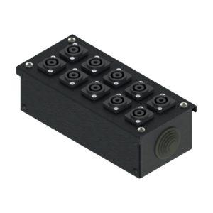Коробка коммутационная проходная без профиля от компании EDS