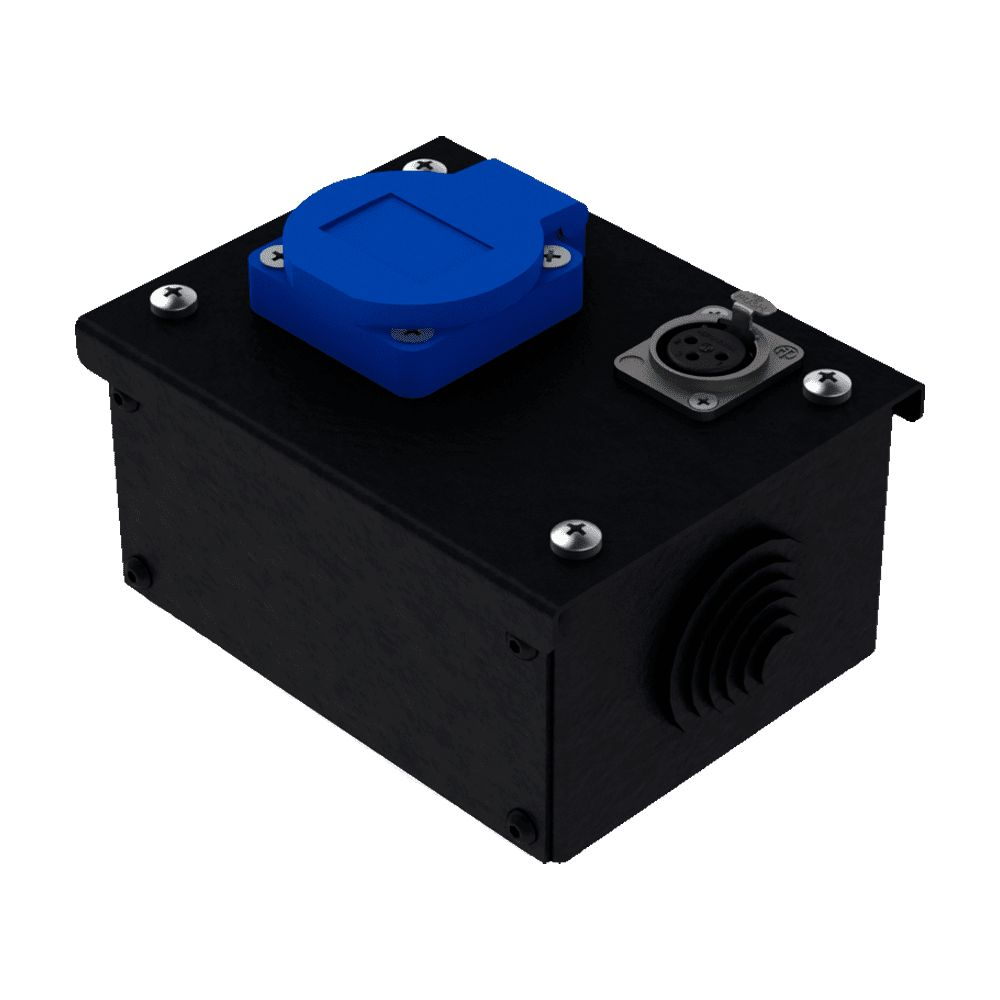 Коробка коммутационная проходная без профиля CB M01-1F   EDS
