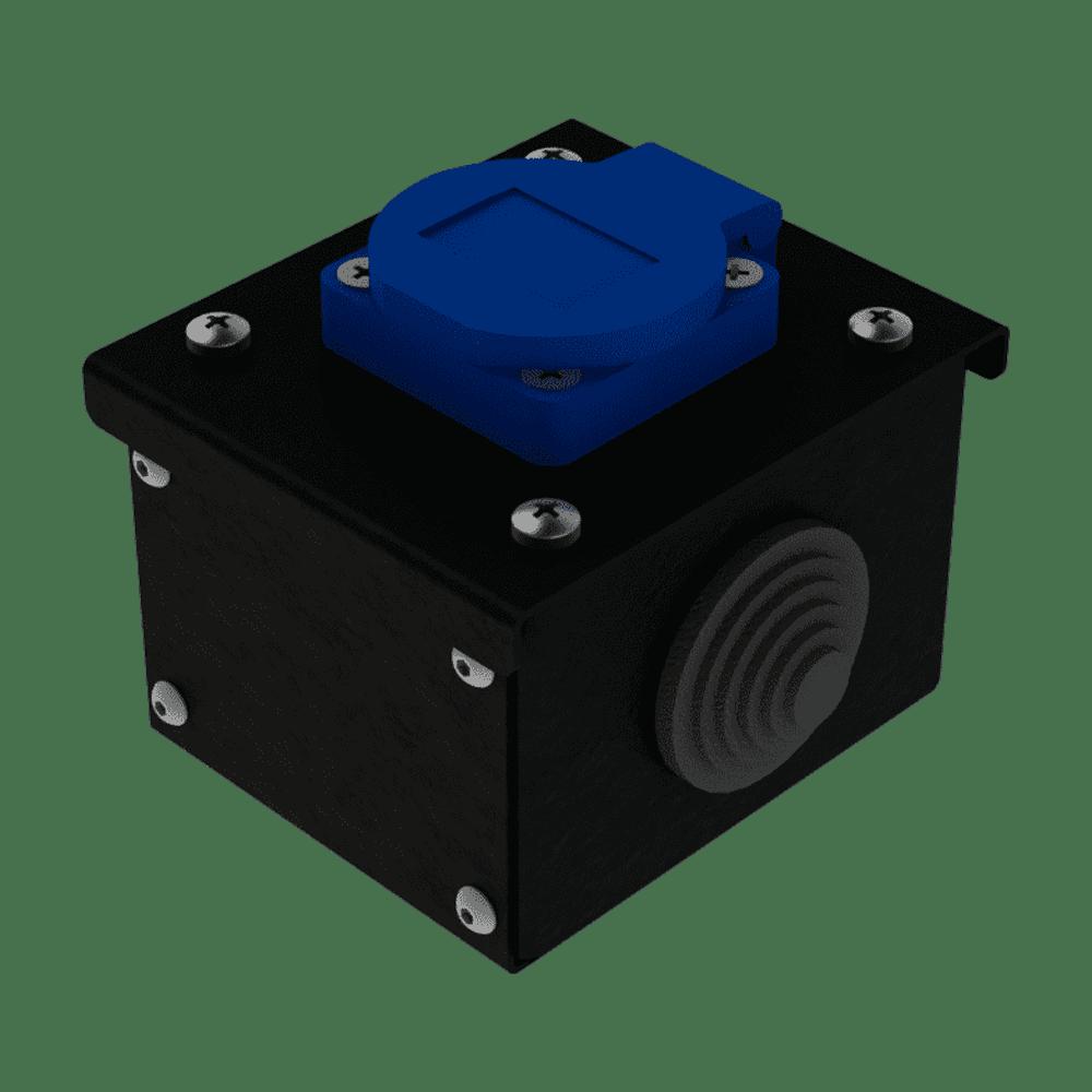 Коробка коммутационная проходная без профиля CB M01 | EDS