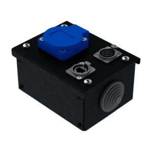 Коробка коммутационная проходная без профиля CB M01-F-E   EDS