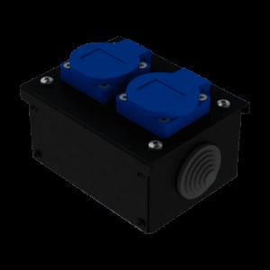 Коробка коммутационная проходная без профиля CB M02 | EDS