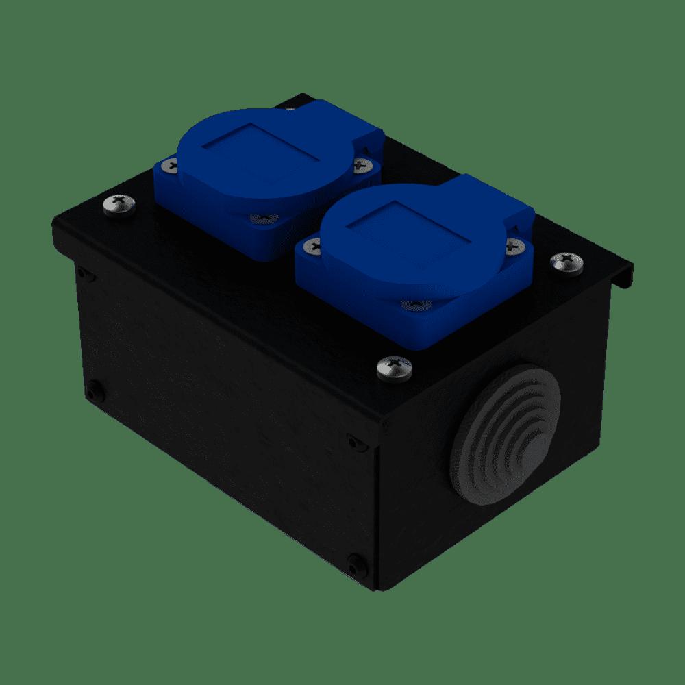 Коробка коммутационная проходная без профиля CB M02   EDS