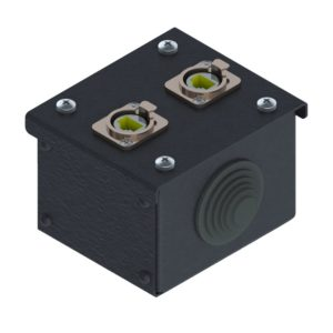 Коробка коммутационная проходная без профиля CBW 00-2E от компании EDS