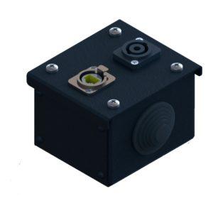 Коробка коммутационная проходная без профиля CBW 00-1E-1S от компании EDS