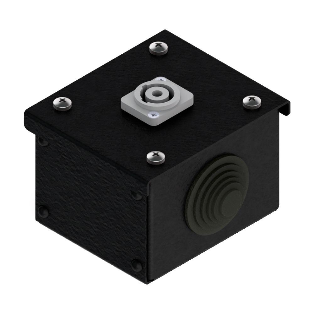 Коробка коммутационная проходная без профиля CBW 00-1PC от компании EDS