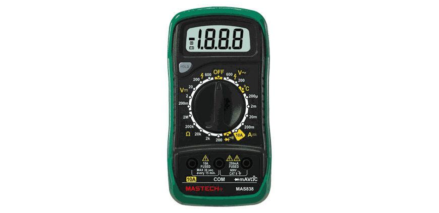 EDS - Как правильно пользоваться мультиметром