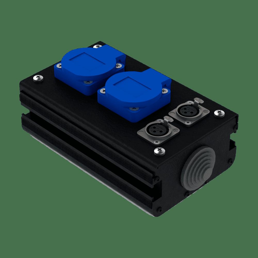 Коробка коммутационная проходная CB 02-2F | EDS