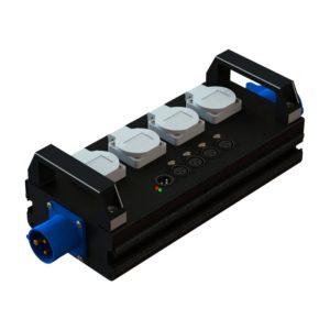 Туровый дистрибьютор со встроенным сплиттером ET 104 DS   EDS