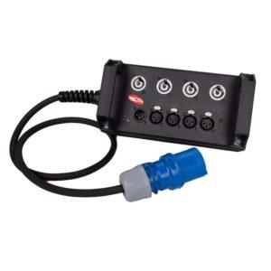 Туровый дистрибьютор со встроенным сплиттером TC 2-4 PC DS | EDS