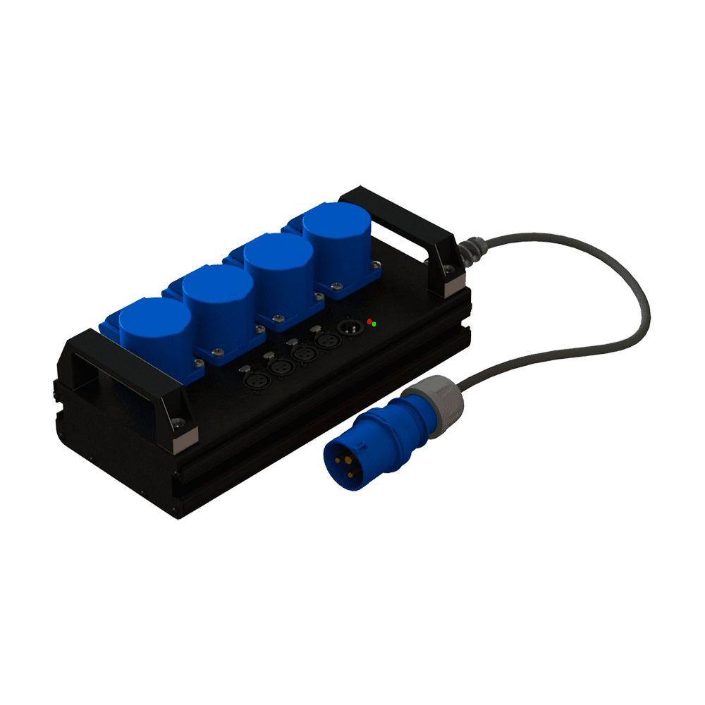 Туровый дистрибьютор со встроенным сплиттером TC 104 DS | EDS