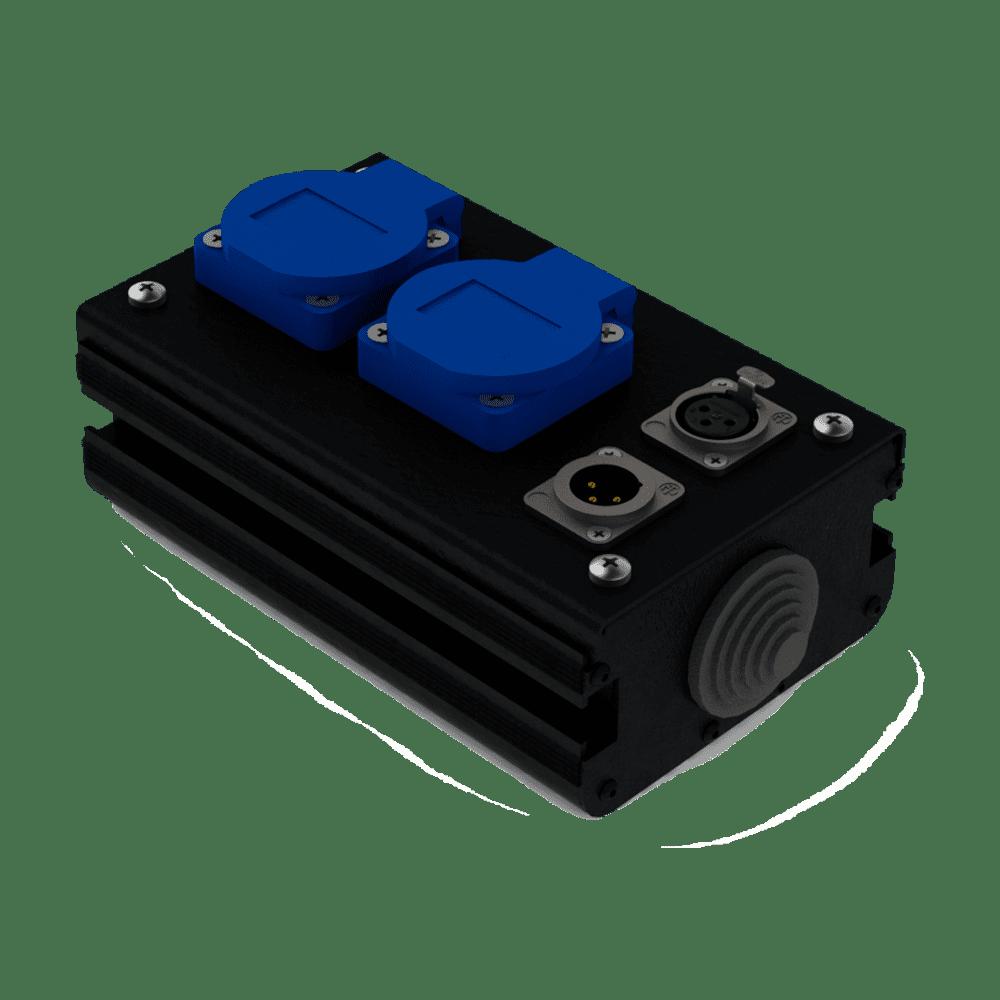 Коробка коммутационная проходная CB 02-F-M | EDS