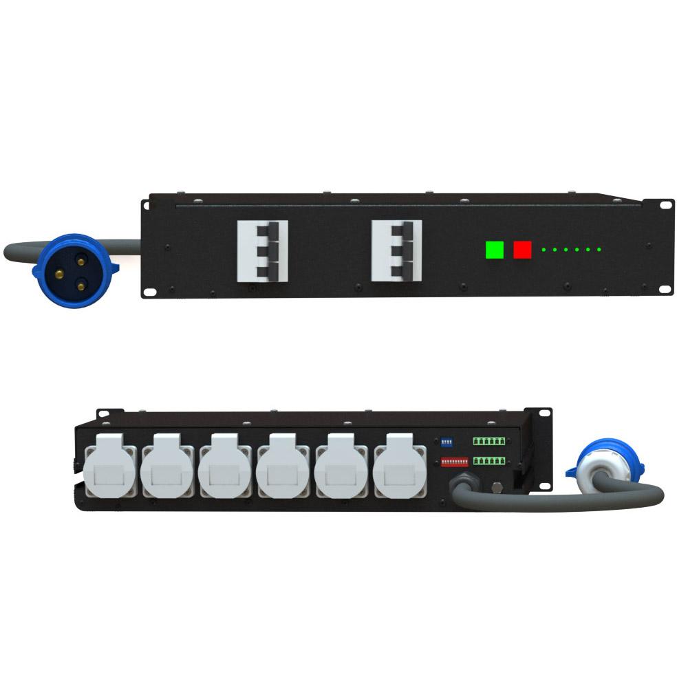 Рэковый секвенсор PB SQRC-3-6-16 | EDS