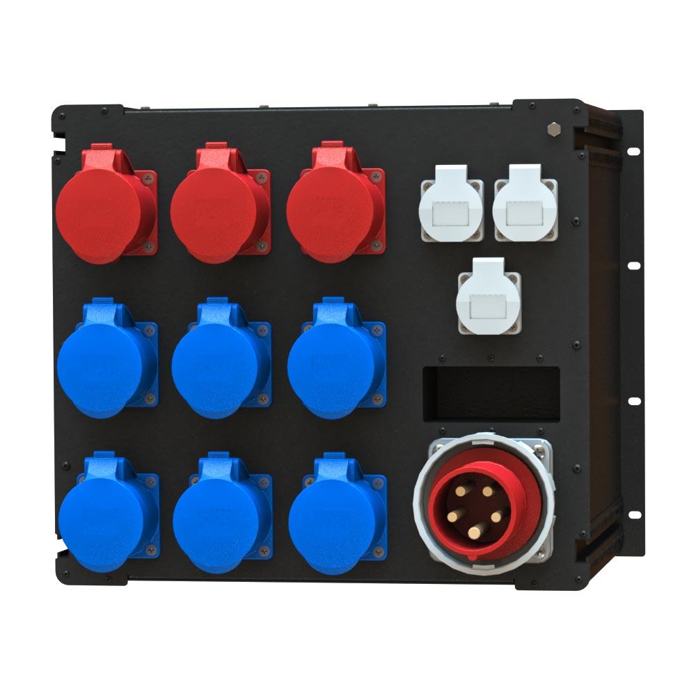 Рэковый дистрибьютор питания R 593 BPAV производства EDS