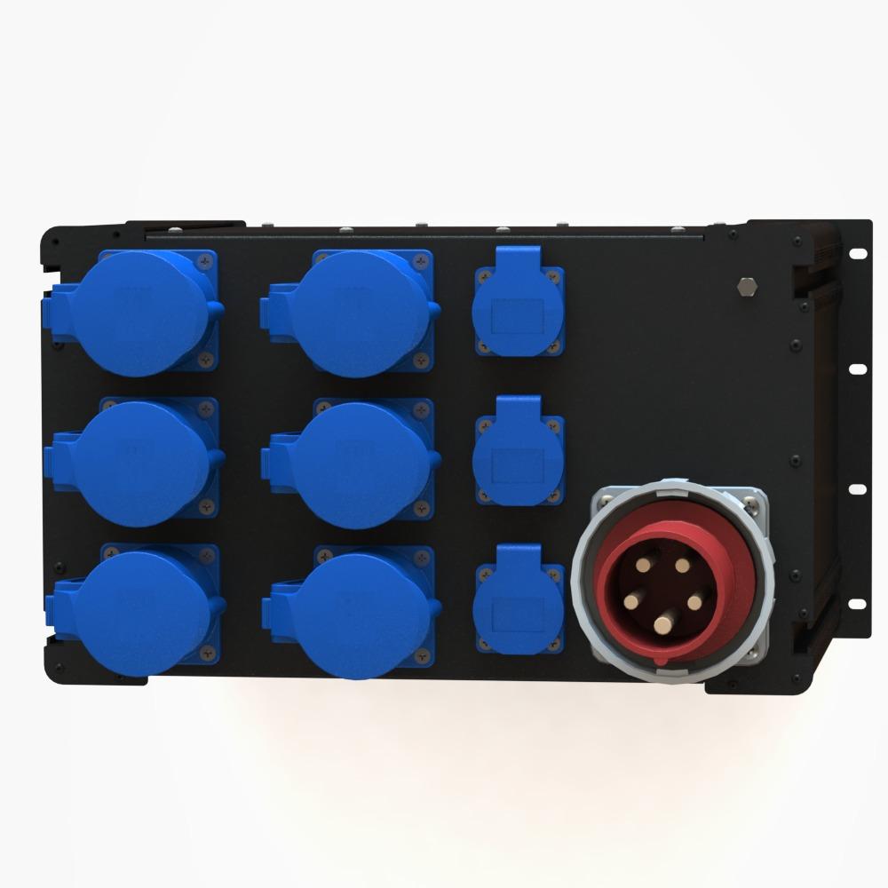 Рэковый дистрибьютор питания R 563 BPAV производства EDS