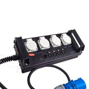 Туровый дистрибьютор со встроенным сплиттером TC 104 DS   EDS