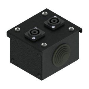 Коробка коммутационная проходная без профиля CBW 00-2S от компании EDS