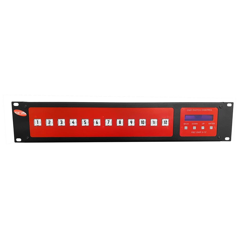 Пульт управления свитчерными блоками с 12 кнопками управления
