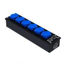 Коробка коммутационная проходная без профиля CB M06-F-E   EDS
